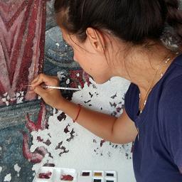 Ανακοινώνουμε τη νέα μας συνεργασία με τη συντηρήτρια έργων τέχνης Γαλήνη Στεργίου