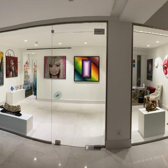 Εγκαίνια της Loudos Fine Art Corfu στο Domes Miramare, A Luxury Collection Resort